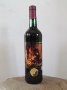 Chokeberry semi-sweet wine