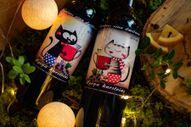 Красная смородина черная смородина-полусладкое горячее вино