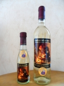 Lilac semi-sweet wine